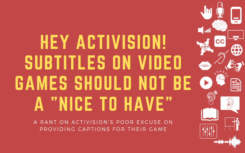 Image for post about Activision's excuse to not provide subtitles for Spyro video game