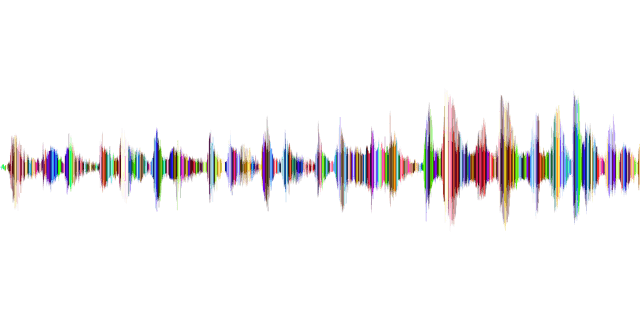Colourful sound waves