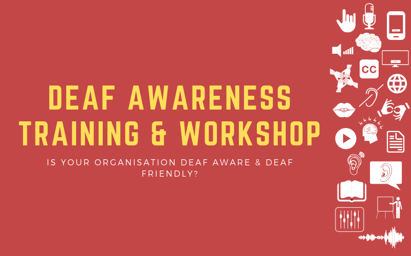 Header image for Deaf Awareness Training: Is Your Organisation Deaf Aware & Deaf-Friendly?