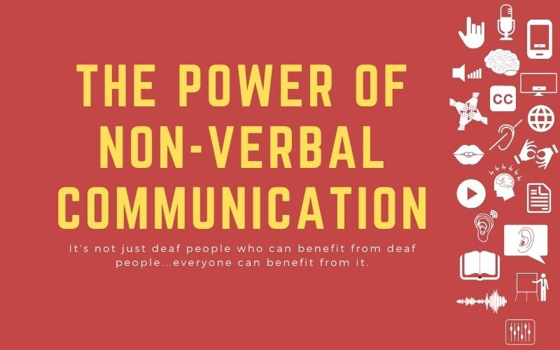 Post image with title: 'The power of non-verbal communication -